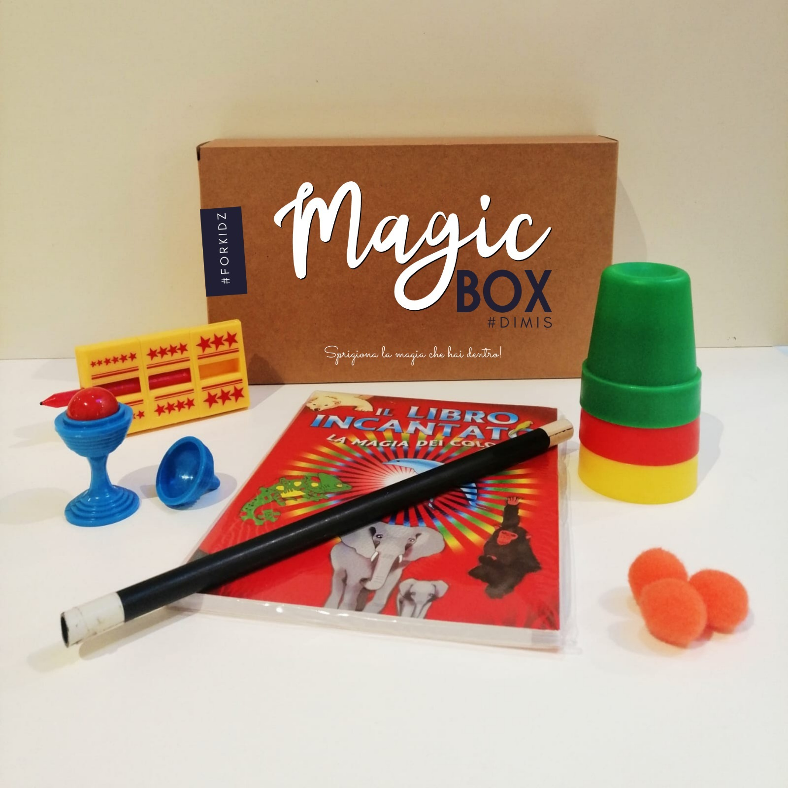 Per Natale regala la Magic Box del Mago Dimis!